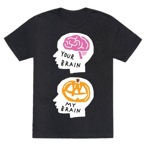 Your Brain My Brain Halloween Mens T-Shirt