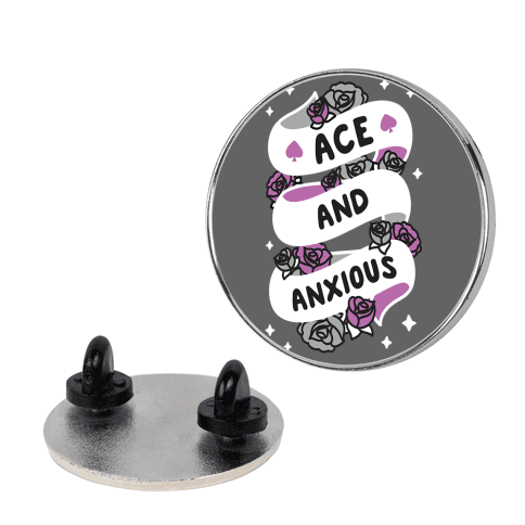 Ace And Anxious Pin