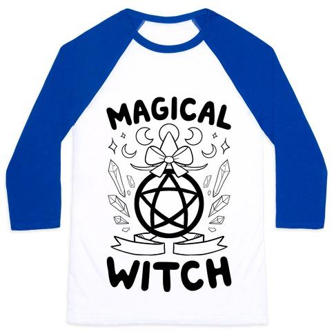 Magical Witch Baseball Tee