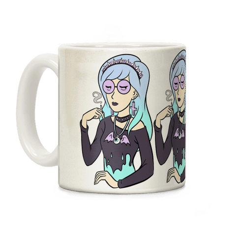 Pastel Daria Parody Coffee Mug