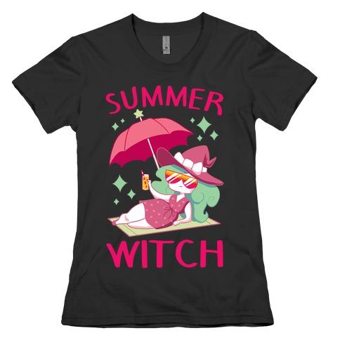 Summer witch Womens T-Shirt