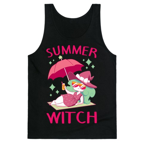 Summer witch Tank Top