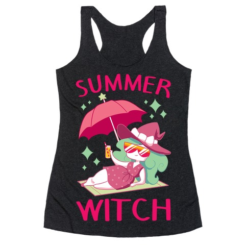 Summer witch Racerback Tank Top