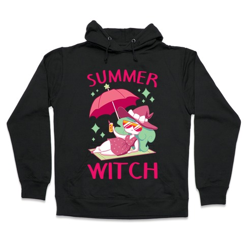 Summer witch Hooded Sweatshirt