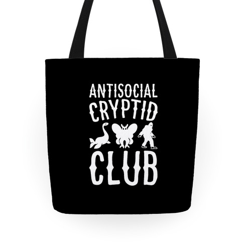 Antisocial Cryptid Club Tote