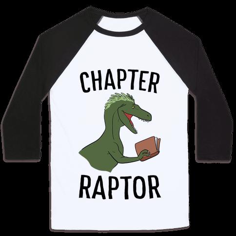 Chapter Raptor Baseball Tee