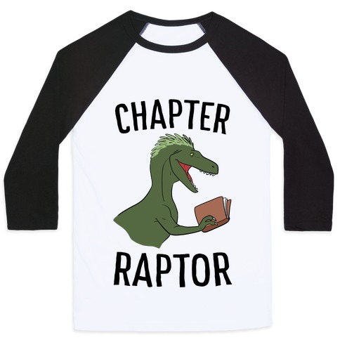 Chapter Raptor Baseball Tee