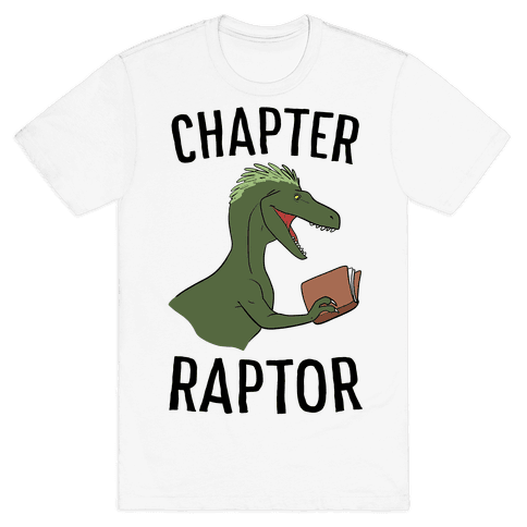 Chapter Raptor Mens T-Shirt