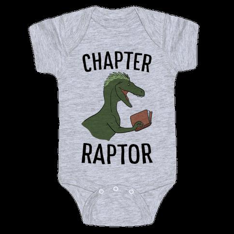 Chapter Raptor Baby Onesy
