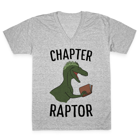 Chapter Raptor V-Neck Tee Shirt