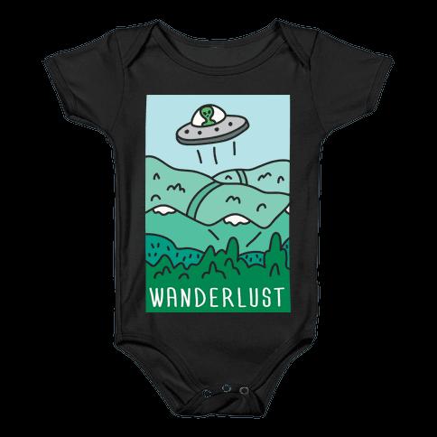 Wanderlust UFO Baby Onesy