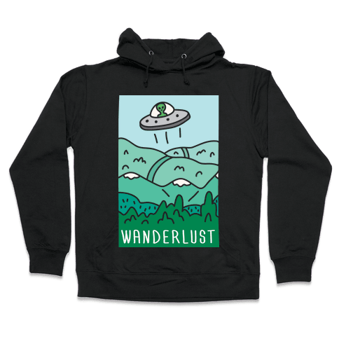 Wanderlust UFO Hooded Sweatshirt