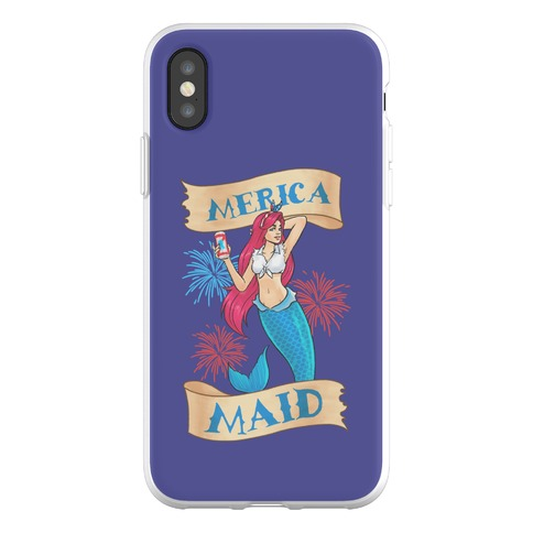 Merica Maid Phone Flexi-Case