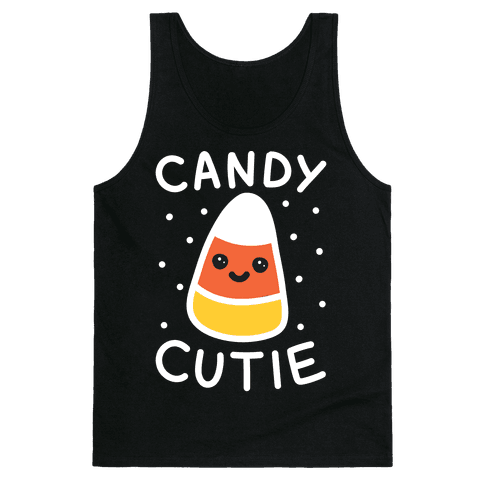 Candy Cutie Candy Corn Tank Top
