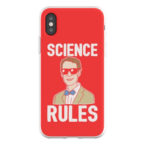 Science Rules Phone Flexi-Case