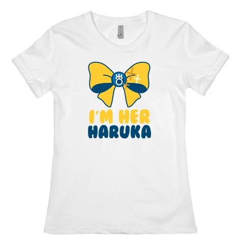 I'm Her Haruka (1 of 2) Womens T-Shirt