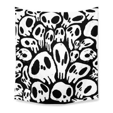 Soft Skulls Tapestry
