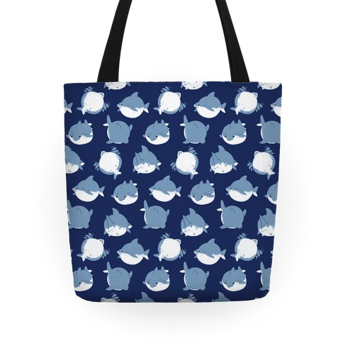 Fat Shark Pattern Tote