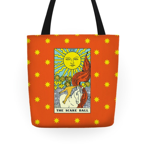 The Scare Ball Tarot Tote