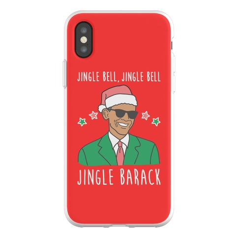 Jingle Barack Phone Flexi-Case