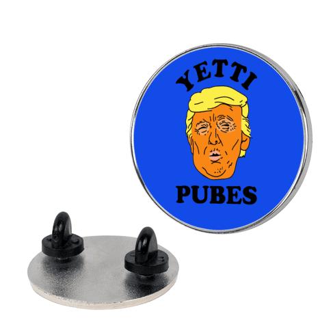 Yetti Pubes pin