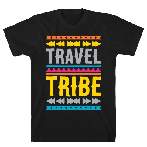 Travel Tribe White Print T-Shirt