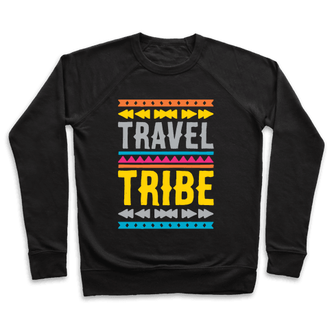 Travel Tribe White Print Pullover
