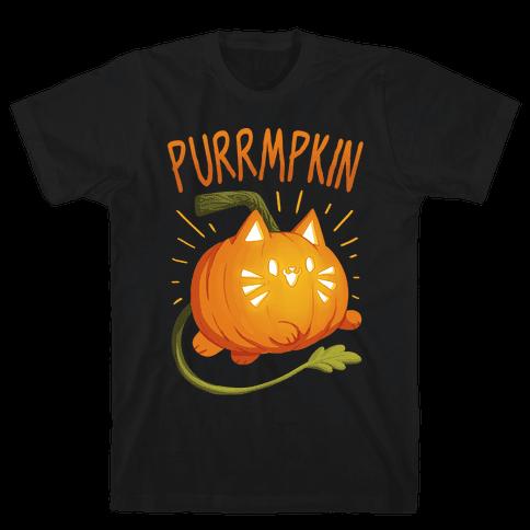 Purrmpkin Mens/Unisex T-Shirt