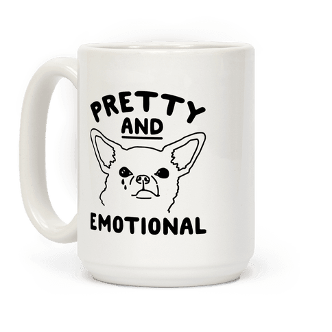 Pretty and Emotional  Coffee Mug