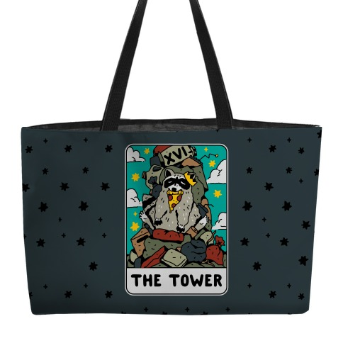 The Garbage Tower Tarot Weekender Tote