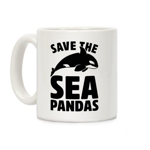 Save The Sea Pandas Mug Coffee Mug