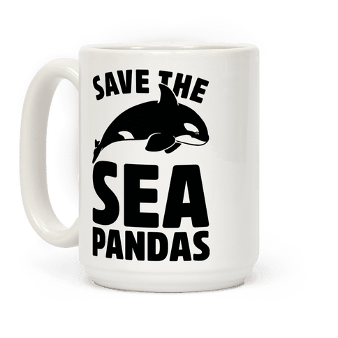 Save The Sea Pandas Mug