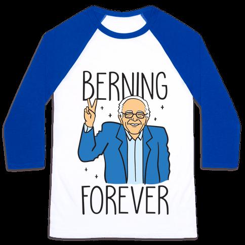 Berning Forever Baseball Tee