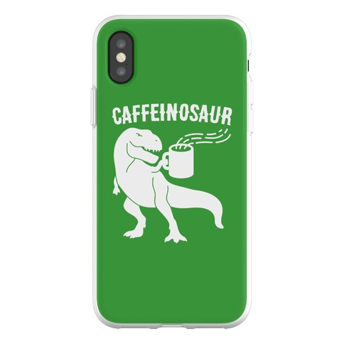 Caffeinosaur Phone Flexi-Case