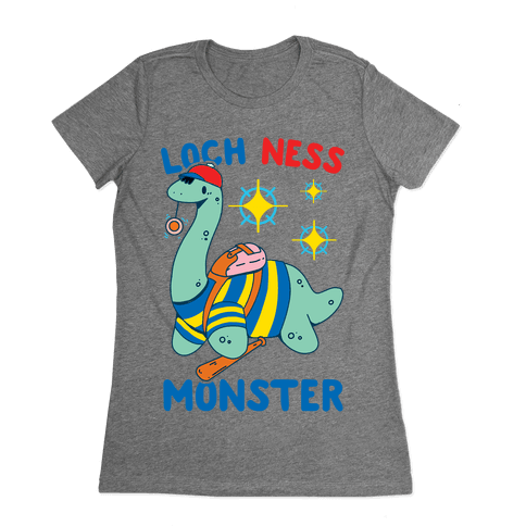 Loch NESS Monster Womens T-Shirt