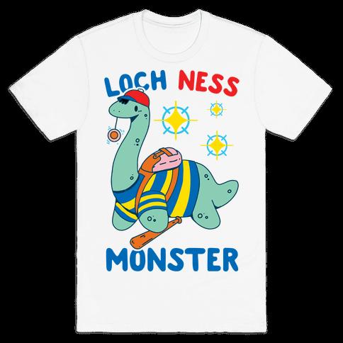Loch NESS Monster Mens/Unisex T-Shirt