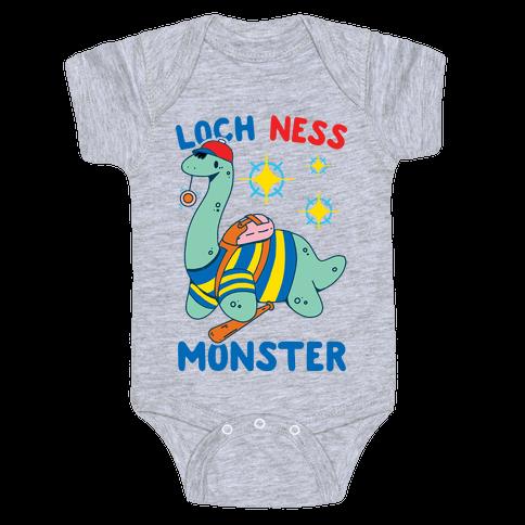 Loch NESS Monster Baby One-Piece