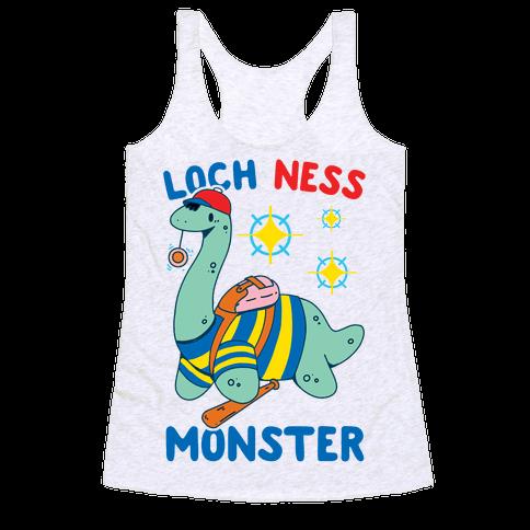 Loch NESS Monster Racerback Tank Top