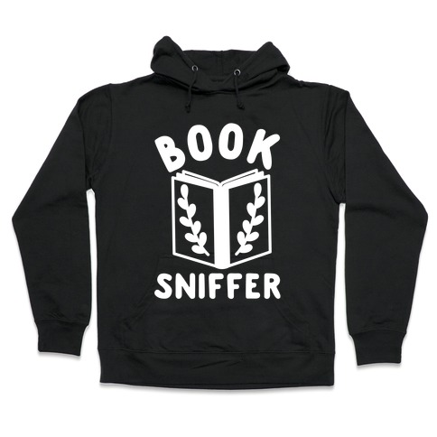 Book Sniffer Hooded Sweatshirt