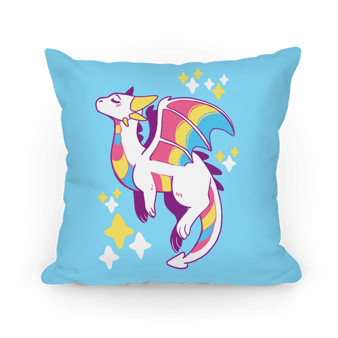 Pan Pride Dragon Pillow