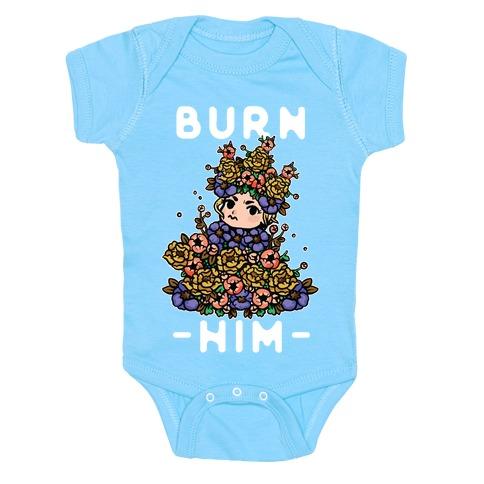 Burn Him May Queen Baby Onesy