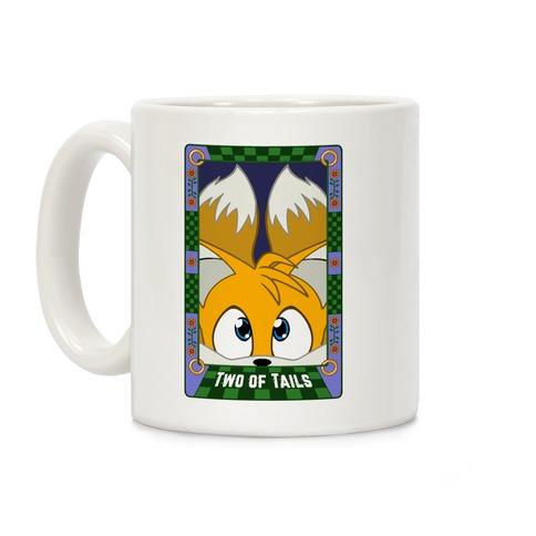 Two Of Tails Tarot Card Coffee Mug