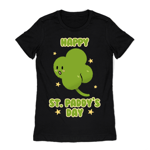 Happy St. Paddy's Day Shambutt Tee Tee Womens T-Shirt