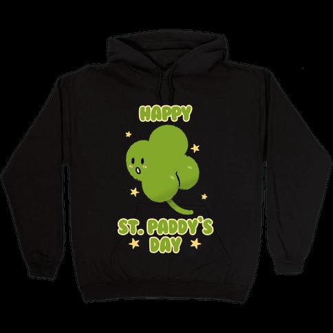 Happy St. Paddy's Day Shambutt Tee Tee Hooded Sweatshirt