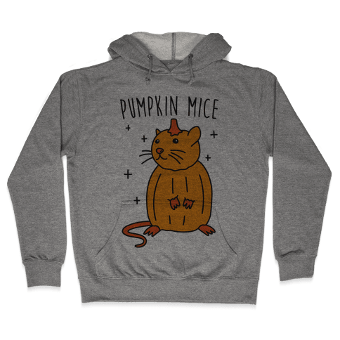 Pumpkin Mice Hooded Sweatshirt