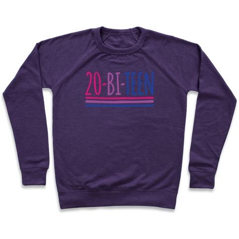 20-Bi-Teen White Print Pullover
