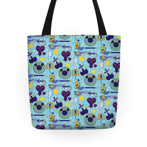Kingdom Hearts pattern Tote