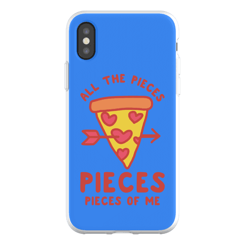 Pieces of Me Pizza Phone Flexi-Case