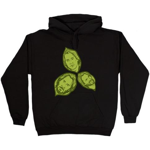 Keanu Leaves Hooded Sweatshirt