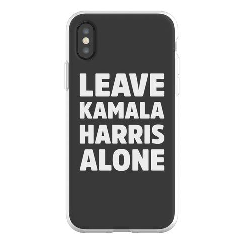 Leave Kamala Harris Alone Phone Flexi-Case